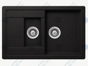 Кухонная мойка SCHOCK Manhattan D-150S nero