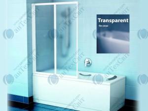 Шторка для ванной RAVAK VS2 105 796M0100Z1