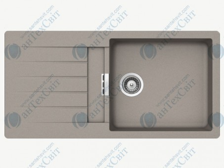 Кухонная мойка SCHOCK Primus D-100L concrete