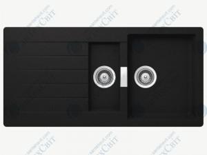 Кухонная мойка SCHOCK Primus D-150 onyx