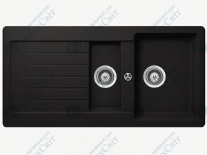 Кухонная мойка SCHOCK Typos D-150 onyx