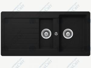 Кухонная мойка SCHOCK Typos D-150 nero