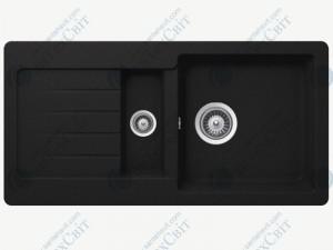 Кухонная мойка SCHOCK Typos D-150S onyx