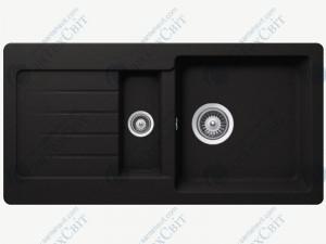 Кухонная мойка SCHOCK Typos D-150S nero