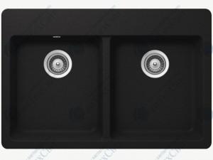 Кухонная мойка SCHOCK Madison N-200 onyx