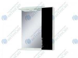 Зеркало САНСЕРВИС Лаура-65 черный/белый