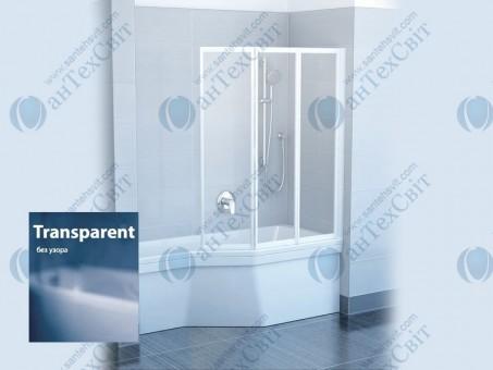 Шторка для ванной RAVAK VS3 130 795V0100Z1