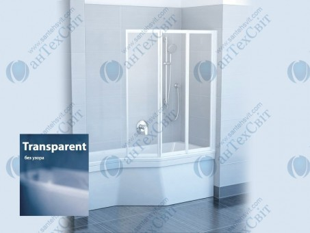 Шторка для ванной RAVAK VS3 130 795V0U00Z1