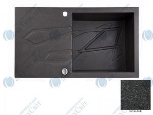 Гранитная мойка MARMORIN Foorn I 450113002 black
