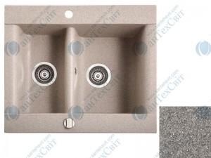 Гранитная мойка MARMORIN Voga 110503010 steel metallic
