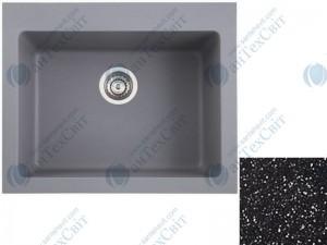 Гранитная мойка MARMORIN Sten 385103012 black metallic