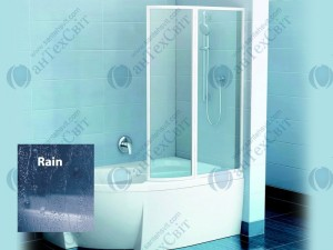 Шторка для ванной RAVAK VSK2 Rosa 140 76P7010041