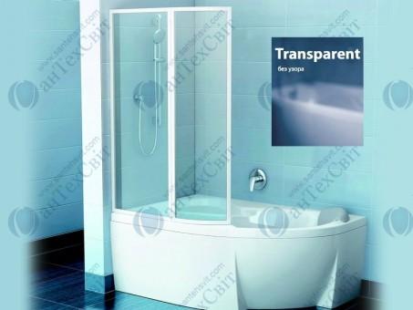 Шторка для ванной RAVAK VSK2 Rosa 150 76L80100Z1