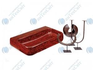 Умывальник CIELO Jungle 80 SHLS80MR monty red