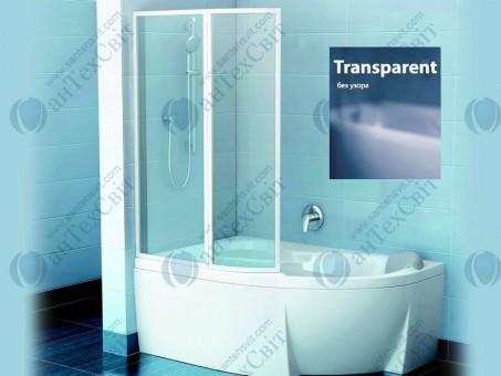 Шторка для ванной RAVAK VSK2 Rosa 160 76L90100Z1