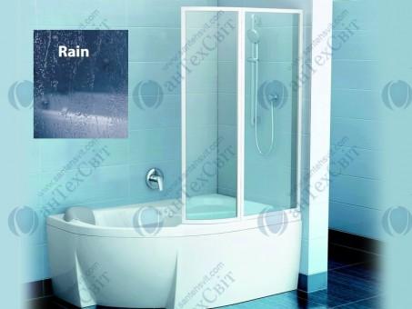 Шторка для ванной RAVAK VSK2 Rosa II 170 76PB010041