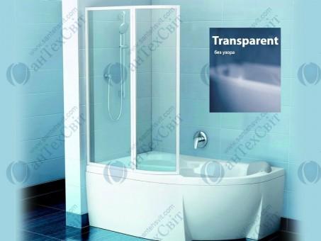 Шторка для ванной RAVAK VSK2 Rosa II 170 76LB0100Z1