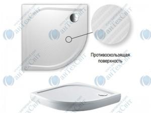 Душевой поддон RIHO Kolping DB18 100*100*3 (DB1800500000000)