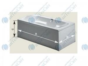 Панель для ванны RIHO Универсальная 140 (P14000500000000)