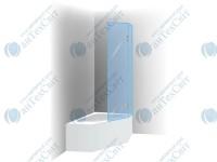 Шторка для ванной RIHO Scandic S500-Delta 150/160 (GC63200)