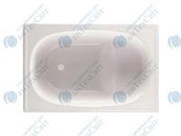 Стальная ванна AQUART  105*70 с сиденьем (B05E2200Z)