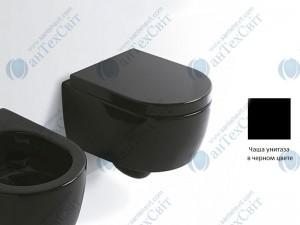 Чаша подвесного унитаза CIELO Smile Mini SMVSRN черный
