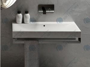 Полотенцедержатель для умывальника CIELO Smile Square 100 SMPSI100