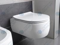 Сиденье для унитаза KERASAN Flo Slim (319101)