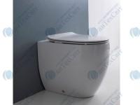 Сиденье для унитаза KERASAN Flo Slim (319130) белый матовый