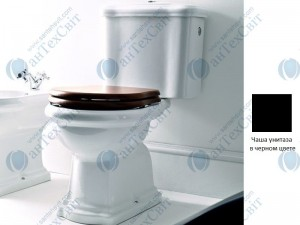 Чаша унитаза KERASAN Retro (101304) черный