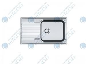 Нержавеющая мойка FRANKE Smart SRX 611-86 XL декор 101.0356.723/101.0456.706
