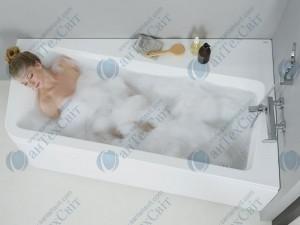 Акриловая ванна RAVAK 10° 170 R C821000000