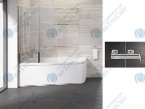 Шторка для ванной RAVAK 10° 10CVS2 100 L 7QLA0U03Z1