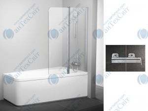 Шторка для ванной RAVAK 10° 10CVS2 100 R 7QRA0U03Z1