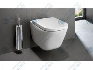 Чаша подвесного унитаза ROCA Gap Clean Rim с сиденьем slow-closing (A34H47C000)
