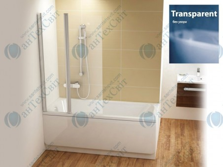 Шторка для ванной RAVAK CVS2 100 7QLA0C00Z1