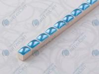 Фриз CEROSSA CERAMICA Капсула 0,7*25 голубая люстрированная