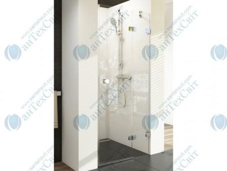 Душевая дверь RAVAK Brilliant BSD2 90 A-R (0UP7AA00Z1+D01000A083)