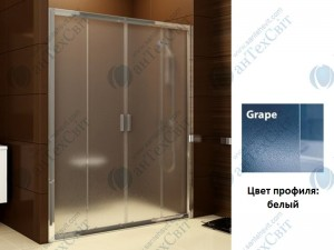 Душевая дверь RAVAK Blix BLDP4 130 (0YVJ0100ZG)