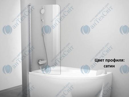 Шторка для ванной RAVAK Rosa CVSK1 140/150 L (7QLM0U00Y1)