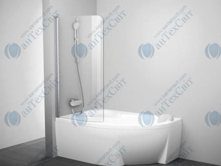 Шторка для ванной RAVAK Rosa CVSK1 140/150 L (7QLM0C00Y1)