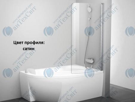 Шторка для ванной RAVAK Rosa CVSK1 140/150 R (7QRM0U00Y1)