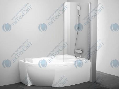 Шторка для ванной RAVAK Rosa CVSK1 160/170 R (7QRS0C00Y1)