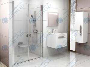 Душевая дверь RAVAK Chrome CSDL2 90 (0QV7CC0LZ1)