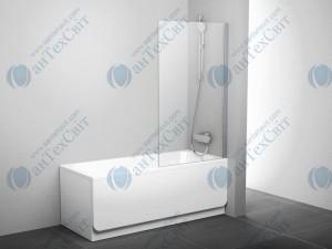 Шторка для ванной RAVAK Rosa PVS1 80 (79840C00Z1)