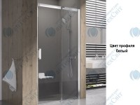 Душевая дверь RAVAK Matrix MSD2 100 R (0WPA0100Z1)