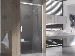 Душевая дверь RAVAK Matrix MSD2 110 R (0WPD0C00Z1)