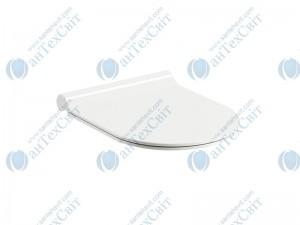 Сиденье для унитаза RAVAK Uni Chrome Soft Сlose Slim (X01550)