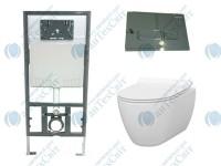 Комплект инсталляция с унитазом IDEVIT Alfa (SETK3104-2616-001-1-6000+53-01-04-009+53-01-04-032)