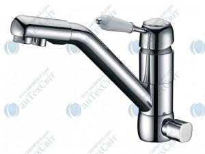 Кухонный смеситель ZORG Sanitary ZR 400 KF 46 chrome